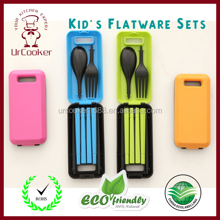Portable Travel / Camping Cutlery Set (Knife, Fork, Spoon)