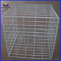 Satndard 60*80mm welded gabion box for wholesales