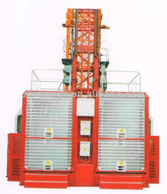 Electric type Double Cage 2T Construction Passenger Hoist
