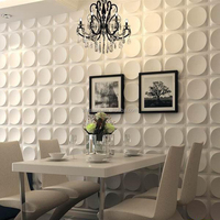 Wholesale living room wall decoration materials 3d wall sticker 3D wall covering to replace wallpaper