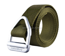 Men's Military Style Army Tactical Nylon Webbing Adjustable metal Buckle Belt heavy duty rescue and daily wear
