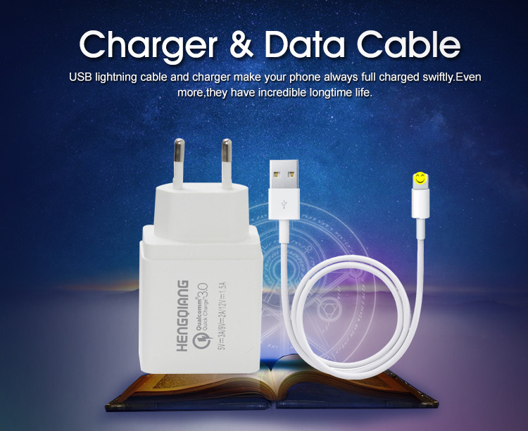 Cellphone Super Capacitor Portable Travel Charger, Multi-nation Travel Adapter with USB Charger