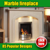 Made in China high quality marble fireplace manufacturers