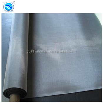 plain weave nichrome wire mesh cloth