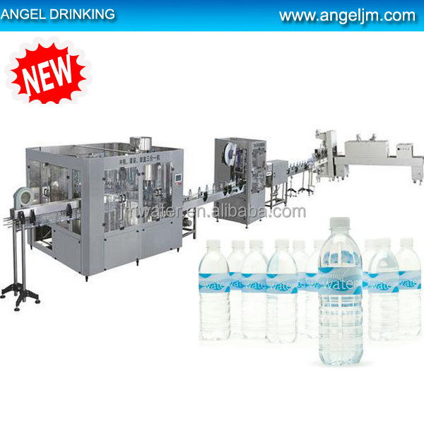 3 in 1 PET bottle mineral water manufacturing plant/equipment/ production line