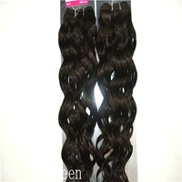 Hot Sale Noble Queen Smart And Fascinating For Lady HH Nature New Body Wave II 18inch Indian Weave Human Hair