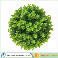 Wholesale China Market artificial giant plastic green ball