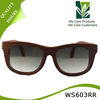 Custom Round Hot Sell Portugal Wood Sunglasses Red Rosewood Handcraft Sunglasses