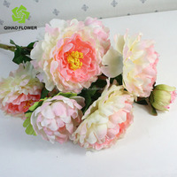 Artificial Peony Silk Peony Spray High