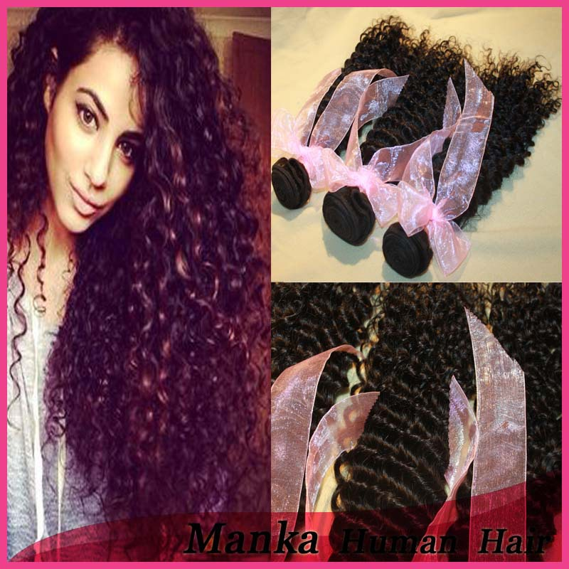 Unprocessed Full Cuticle Remy Natural Raw indian Virgin Human Hair Straight wavy Curly Accept PayPal
