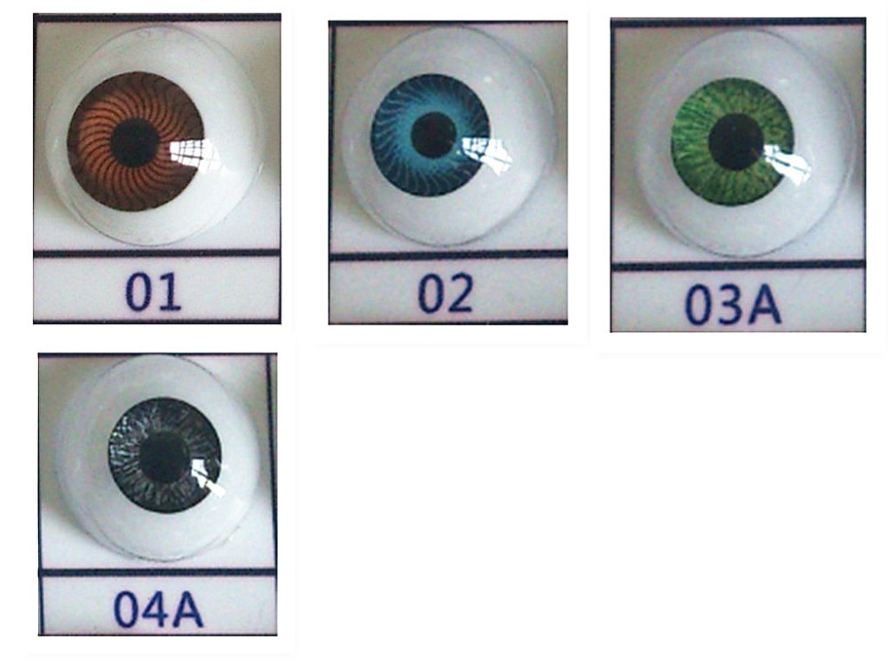 customized 22 mm doll eyes/ blanking doll eyes for stuffed toys