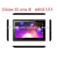 cheapest allwinner a13 7 inch tablet pc with voice call via skype