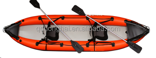 2 Person Whitewater Inflatable Kayak with Drop Stitch for Sale