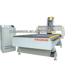 YN2040 cnc machine with Japanese Yaskawa servoo motor and Italy HSD air cooling spindle