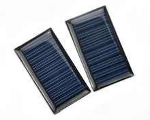 Mini Solar Panel Small cell Module Epoxy Charger With Customized Wire