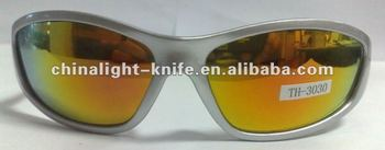 Mirrored sun glasses