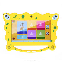 "OT 7 inch 7"" Dual core Kids tablet pc A23 512M 8G 5.2 Android tablet Children Wifi handle tablets for Kids Education Games pad"