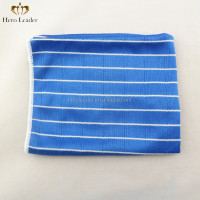 microfiber bamboo cloth 80 polyester 20 bamboo fabric, blue ,orange and customize colors