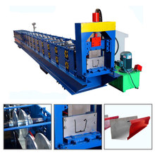 china hebei galvanized steel aluminum seamless water rain gutter forming machine for sale with good price