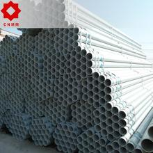 high frequency mushroom tube zinc coated steel 11.5 meters galvanized duct pipe