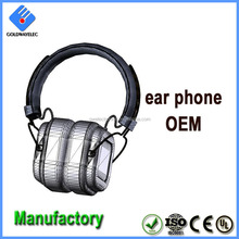 New design OEM Over-ear Wireless Bluetooth Stereo Headset with CE/Rohs