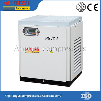 Low-Noise Operation Closed Cabinet stationary industrial air compressor