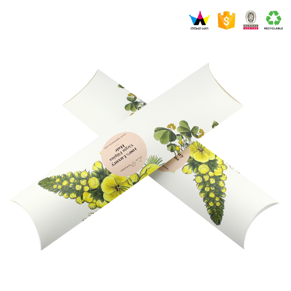 2017 Paper Custom Premium Pillow Hair Extension Packaging Box