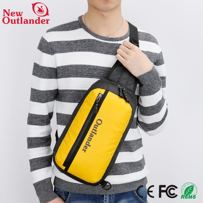Hot sale waterproof nylon men shoulder bags