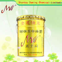 High gloss dry fast non-skinning environmental Inner gravure printing ink