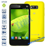 ZTE U819 4.5 inch IPS Smartphone Android 4.0(MT6589 Quad Core 1.2 GHz/3G/Dual Mode/Support G-sensor Bluetooth Wifi/ROM 4GB
