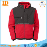 new product polar fleece pullover jacket with elastic cuff