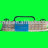 White Nylon Diamond Braided Rope With