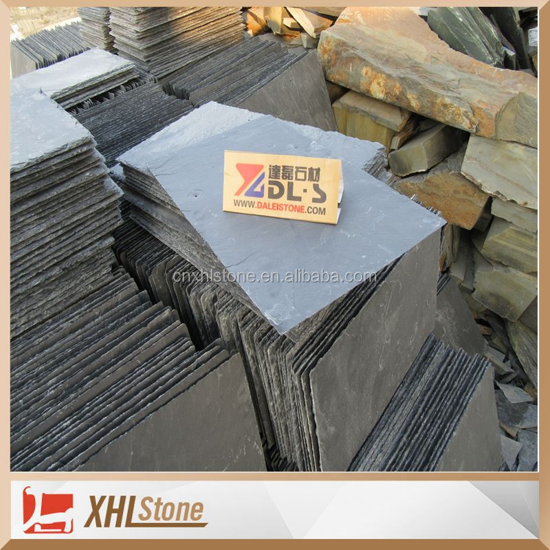 Nature black Roofing slate tile slate for roofing prices