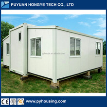 2017 China Home Designs Modular House Expandable Prefab Container House