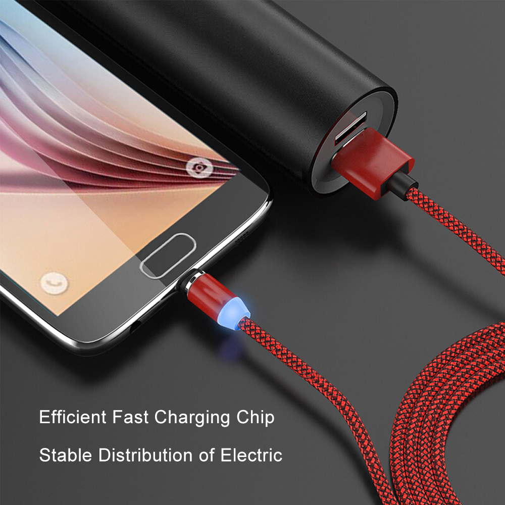 Wholesale micro usb 3 in 1 magnetic micro usb cable nylon braided magnetic usb cable for mobile phone