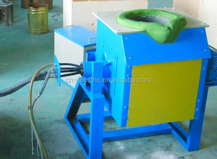 Small Induction Melting Furnace for Gold/Silver/Steel
