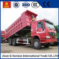 New sinotruk 6 x 4 10 wheeler dumper trucks for sale low price