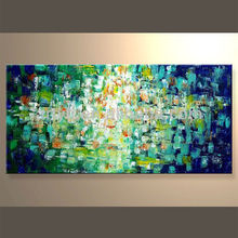 Handmade Hand-painted Abstract Wall Art In Discount Price