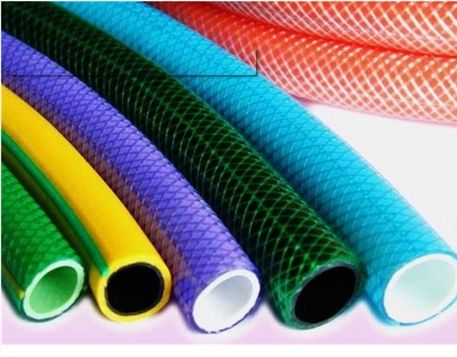"Hot selling 3/4"" pvc garden hose canvas garden water hose Colored water hose"