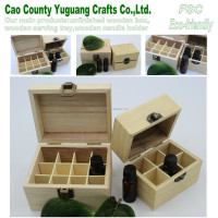 wooden material box,accept custom oil box,natural essential oil box