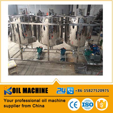 professional food grade sunflower/peanut/soybean crude oil refinery machine, rice bran oil refining machine, oil refinery plant