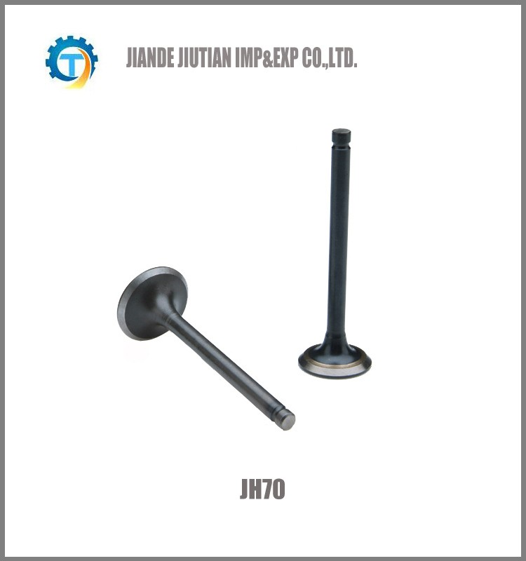 JH70 motorcycle inlet/outlet engine valve