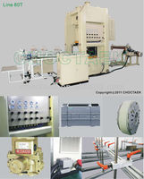 Disposable Aluminium Foil Food Container Machine