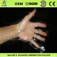 wash /hair salon glove cuff disposable gloves
