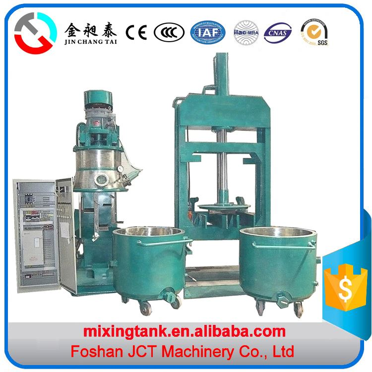2016 JCT planetary mixer cake making machine planetary mixer for glue,adhesive,cosmetic and chemical products