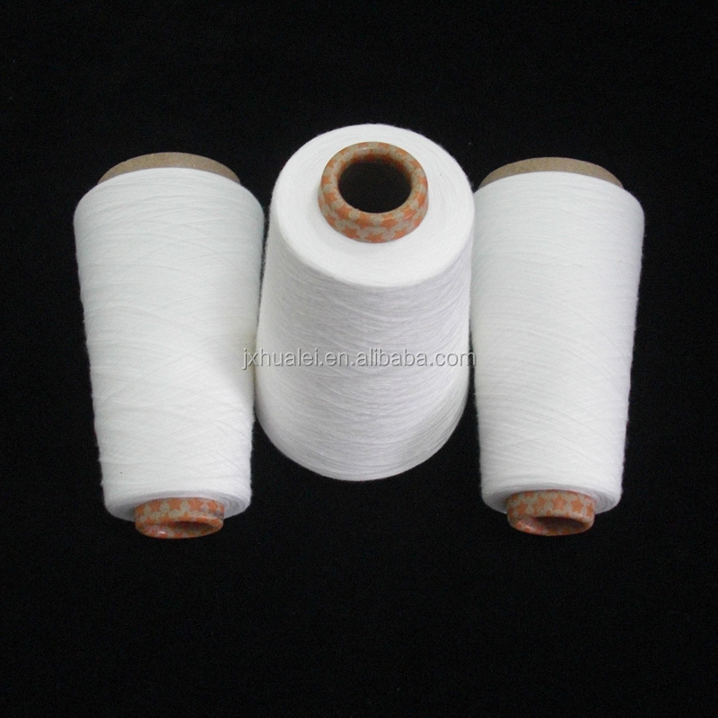spinning mills 100 polyester spun yarn virgin