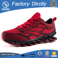 The foreign trade women men sports shoe marathon fly line of sports shoes portable