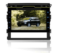 9 inch full touch button control HD 1080P BT TV GPS IPOD Fit for toyota land cruiser 2008