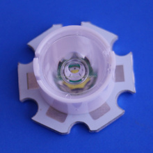 13mm diameter mini lens for XTE XPE leds