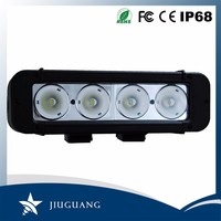 Strong Housing single row IP67 waterproof CE ROHS 40w 8 inch led off road light bar